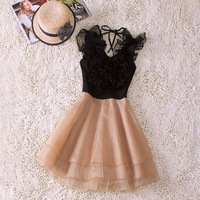 Fashion 2013 summer one-piece dress fashion high quality one-piece dress