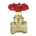 "Giant water 103 all-pass diameter copper gate valve 6 points DN20 1 ""DN25 copper valves(China (Mainland))"