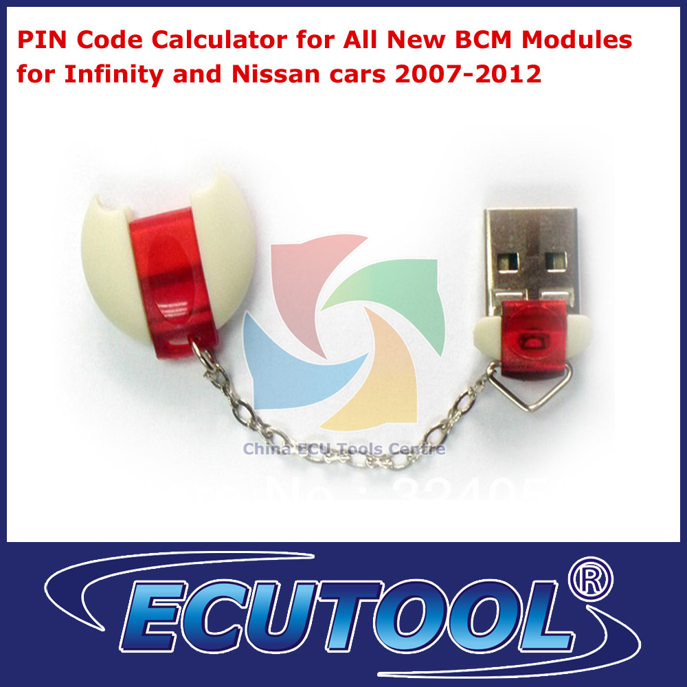 PIN Code Calculator for All New BCM Modules for Nissan Infinity 2007-2012 Free Shipping(China (Mainland))