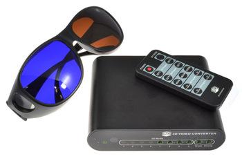 3d converter 1080p hd tv video converter 2d 3d , 2 blue brown