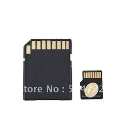 NEW 2GB Micro SD Microsd TF Memory Card +SD Card Adapter Brand New(China (Mainland))