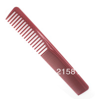Red row of comb hair comb barber comb hairdressing tool professional comb tools