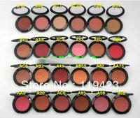 free shipping!new makeup 24 colors makeup mineralize blush 3.5g (24pcs/lot)