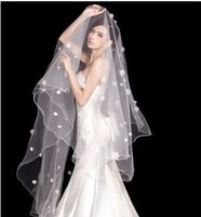 v3 Free shipping Wedding Bridal veils Dress lace Wedding Accessories 3m bridal veils