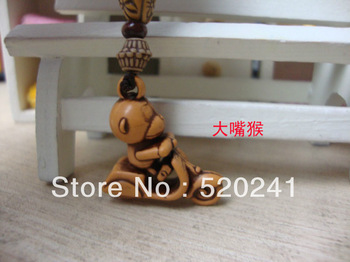 Cartoon Monkey Cellphone Strap for girls,Handphone charm/phone accessories,Free shipping+50pcs/lot