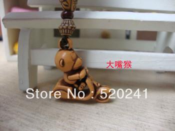 Cartoon Monkey Cellphone Strap for girls,Handphone charm/phone accessories,Free shipping+50pcs/lot