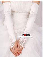 g3  Free shipping Wedding Bridal gloves  Dress Wedding Accessories fingerless elbow bridal gloves 2014