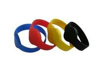 10pcs A lot of  125KHz   TK4100 economy silicone wristband