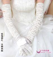g8  Free shipping Wedding Bridal gloves  Dress Wedding Accessories finger opera 45cm bridal gloves 2014