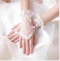 g11  Free shipping Wedding Bridal gloves  Dress Wedding Accessories fingerless wrist bridal gloves 2014