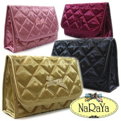 Naraya bag in bangkok tape mirror bow cosmetic bag nbs-60 l(China (Mainland))
