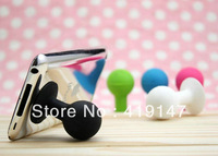 Universal Rubber ball octopus Holder Stand Sucker for Apple iPhone 4S 4 3G 3GS iPod iPad PSP  mobile Phone 3000pcs free dhl ship