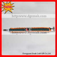direct factory charming handmade outdoor hiking bracelet