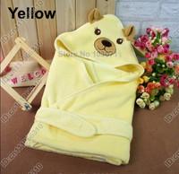 Newborn Baby Kid Child Infant Toddler Swaddle Me Swaddling Wrap Blanket Sleeping Bag Sleepsack Sleep Sack Growbag Hooded--Yellow