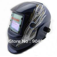 Cheap  Li Battery+Solar auto darkening welding helmet/welding mask for the TIG MMA MIG MAG weld and plasma cutter