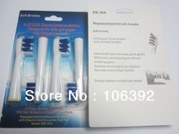 wholesale 400pcs/lot (4pcs=1pack) EB30-4 TriZone EB-30A electric toothbrush head heads TriZone  EB30 free shipping with DHL