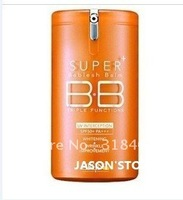 Free shipping 6PCS/LOT NEW Arrival Hot sale !! triple function 365 DAYS vitamin orange super BB Cream SPF50+ PA+++ 40ml