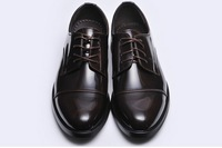 2013 Retro Fashion England shoes men Genuine leather shoes men business casual shoes Wedding  Free Shipping