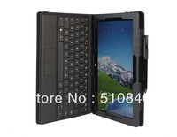 20pcs/lot New Folio Stand Leather Pouch Case Cover For Microsoft Surface Pro 10.6' Tablet +DHL/EMS Shipping