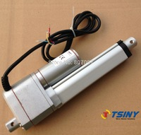 "Electric Linear Actuator motor with Potentiometer feedback 24vdc 100mm/4"" stroke 1400N"