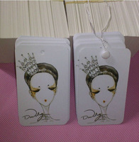 Custom High Quality Paper Hang Tag/clothing hang tags