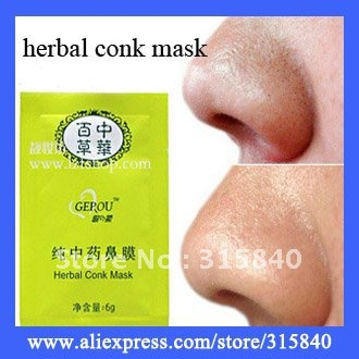 120pcs herbal conk mask,herbal nose pore mask,New Blackhead Herbal Deep Nose Pore Cleaning Strips -- MSP70(China (Mainland))