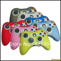 Good price Free Shipping 2pcs/lot New Silicone Cover Skin Cases For Xbox 360 Xbox360 Game Controler Fast Shipping