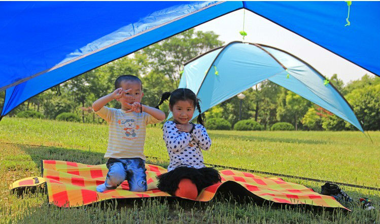 Free shiping by EMS 4PCS/LOT Outdoor camping tents big size shade tents, outdoor awning large beach tent shade-shed awned gazebo(China (Mainland))