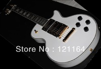 best best Musical Instruments Signature Camo Bullseye white Electric Guitar Free Shipping