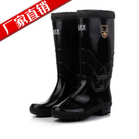Wan xin high quality male boots high waterproof shoes rainboots rain boots
