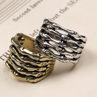 Jz032 fashion accessories vintage skull claws bone punk ring