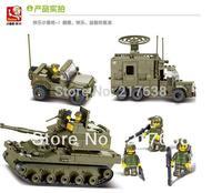 Free shipping !Sluban 576pcs/set Children's DIY educational  toys,elite armored division m38-b0308 blocks buliding toys