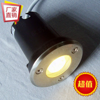 Outdoor led buried lights waterproof buried lights led lawn lamp  landscape lamp multicolour 1w220v