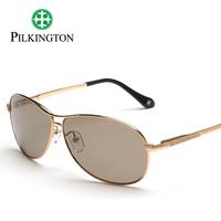 Pilkington sun glasses male polarized sunglasses titanium box sleekly glass large sunglasses glasses pk5469