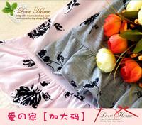 Plus size Women 100% cotton knitted lounge sleep set maternity clothing -wmyz1