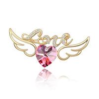 2014 Hot Sale New Freeshipping Women Brooch Hijab Pin Up Brooch Fashion Austrian - Women's Accessories Jewelry Birthday Gift