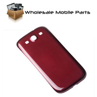 Replacement Back housing cover for Samsung Galaxy S3 SIII I9300 Red free shipping