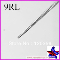 Free Shipping,50pcs/Set Sterilize Tattoo Needles Round Liner 9RL,Tattoo Machine Sterile Disposable Needles,wholesale needles