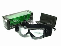X800 single lens goggles outdoor swat goggles tactical goggles antimist