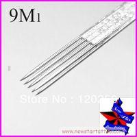 Free Shipping,50pcs/Set Sterilize Tattoo Needles Weaved magnum 9M1,Tattoo Machine Sterile Disposable Needles,wholesale needles
