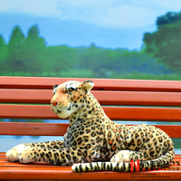 New Stuffed Toys Doll Simulation Plush Leopard Large 90cm Animal Children Gift Home Car Decoration Genuine Quality Free shipping