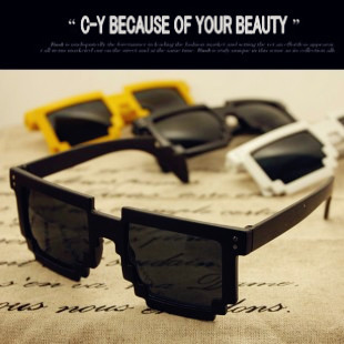 2013 new fashion Bap . zelo mosaic sun glasses general sunglasses for women men wholesale 130383(China (Mainland))
