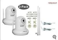 EMS FREE Genuine 2 pcs Foscam FI8910W white NEWEST MODELFilter ip camera CMOS Sensor webcam High image