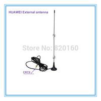 Free shipping  5dbi 3G antenna with CRC9 male connector 1920-2100 Mhz RG174 For HUAWEI E156 E156G E160 E160E E182E E173