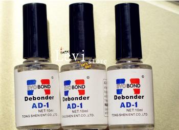 3 Pieces Super False Eyelashes Glue Debonder Nail Polish Remover   AD-1 Free Shipping