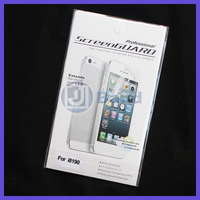 High Quality Clear Screen Protector With Retail Package For Samsung Galaxy S3 mini i8190