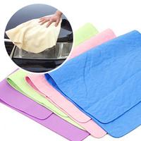 free shipping Absorbent towel multi-purpose imitation deerskin towel car wash wipes pet towel dry hair towel auto supplies
