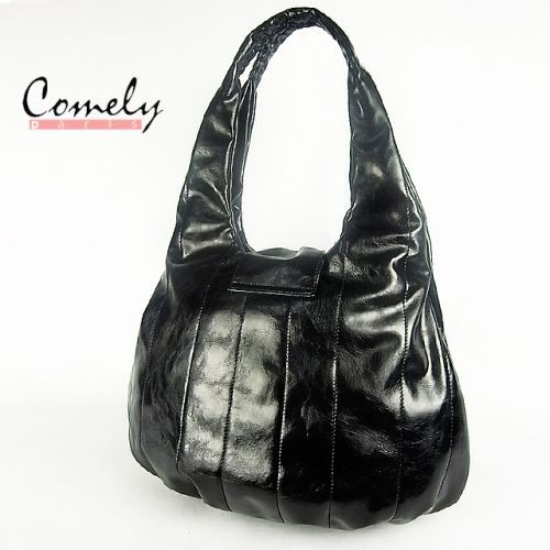 Designer handbags free shipping leather first class patent PU leather fashion elegant design(China (Mainland))