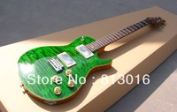 Free EMS New PRS Supreme Brand Guitars Electric Guitar Top Sellings A+++ Best Quality quilt flame Gree color finished!