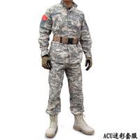 Unorthodox suits training uniform acu camouflage field service outdoor jacket outdoor cs
